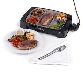 Beldray EK2646BGP Multi-Portion 5-in-1 Grill with Non-Stick Marble Coating Thumbnail 6