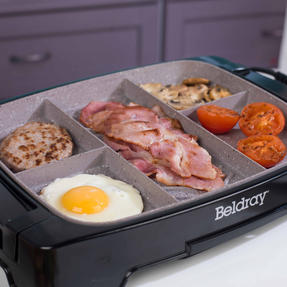 Beldray EK2646BGP Multi-Portion 5-in-1 Grill with Non-Stick Marble Coating Thumbnail 10