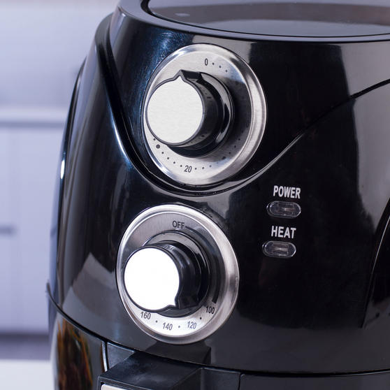 Beldray Compact Healthy Air Fryer, 2 Litre, Black Thumbnail 4