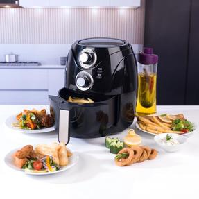 Beldray EK2771BGP Compact Healthy Air Fryer, 2 Litre, Black Thumbnail 2