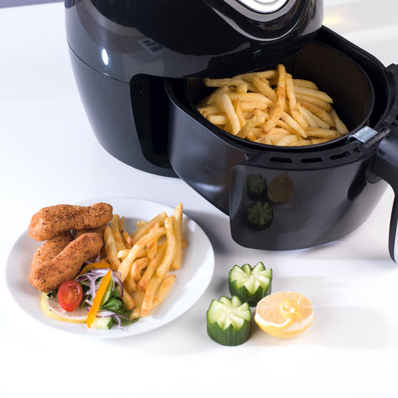 Beldray Large Healthy Air Fryer, 3.2 Litre, Black Thumbnail 3