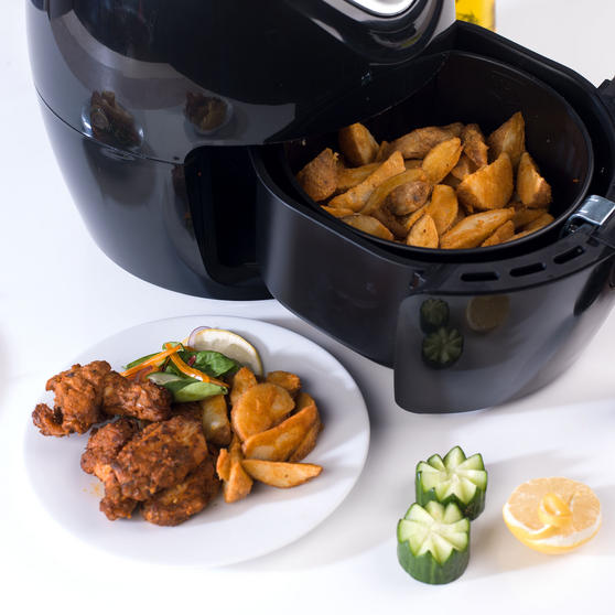 Beldray Large Healthy Air Fryer, 3.2 Litre, Black Thumbnail 6