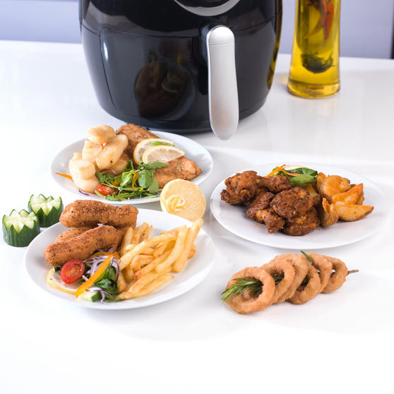 Beldray Large Healthy Air Fryer, 3.2 Litre, Black Thumbnail 8