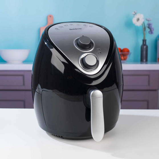 Beldray Large Healthy Air Fryer with 30 Minute Timer, 3.2 Litre, Black Thumbnail 8