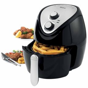 Beldray EK2818BGP Large Healthy Air Fryer with 30 Minute Timer, 3.2 Litre, Black Thumbnail 1