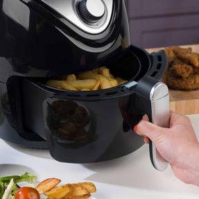 Beldray EK2818BGP Large Healthy Air Fryer with 30 Minute Timer, 3.2 Litre, Black Thumbnail 6