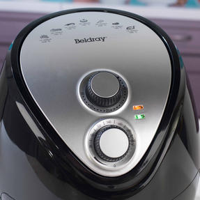 Beldray EK2818BGP Large Healthy Air Fryer with 30 Minute Timer, 3.2 Litre, Black Thumbnail 7