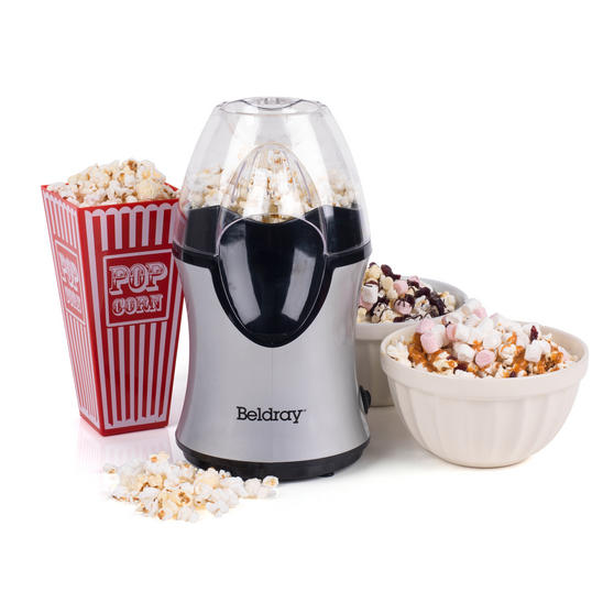 Beldray EK2902BGP Healthy Popcorn Maker, 1200 W