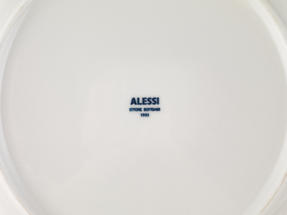 Alessi La Bella Tavola Porcelain 4-Place Setting Breakfast and Dinner Dining Set Thumbnail 7