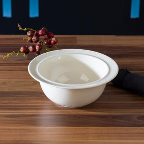 Alessi La Bella Tavola Porcelain Cereal, Soup, Dessert Bowls, 16 cm, Set of 4 Thumbnail 3