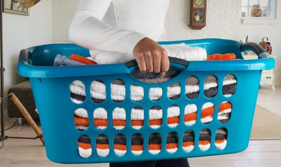 Beldray Hip Hugger Laundry Baskets, Set of 2 Thumbnail 3
