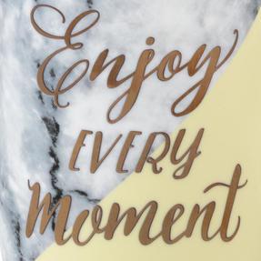 Portobello COMBO-3003 Devon Marble Live Laugh Love and Enjoy Every Moment Mug Set, 4 Piece Thumbnail 7