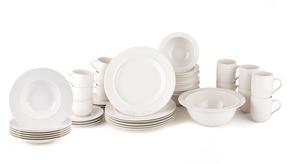 Alessi La Bella Tavola Porcelain 8-Place Setting Dining Dinnerware Set Thumbnail 2