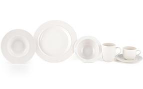 Alessi La Bella Tavola Porcelain 8-Place Setting Dining Dinnerware Set Thumbnail 3