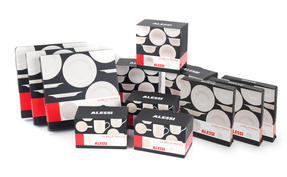 Alessi La Bella Tavola Porcelain 8-Place Setting Dining Dinnerware Set Thumbnail 9