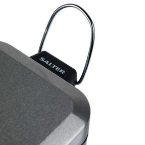 Salter BW06667 Rectangular Kitchen Bathroom Pedal Bin, 5 Litre, Stainless Steel Thumbnail 5