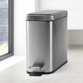 Salter BW06667 Rectangular Kitchen Bathroom Pedal Bin, 5 Litre, Stainless Steel Thumbnail 9