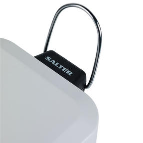 Salter BW06667W Rectangular Kitchen Bathroom Pedal Bin, 5 Litre, White Thumbnail 6