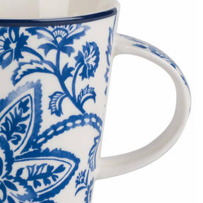 Cambridge CM06067 Lincoln Arrabella New Bone China Mug, Blue Thumbnail 3