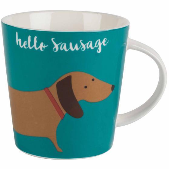 Cambridge CM06072 Lincoln Hello Sausage Dog Mug