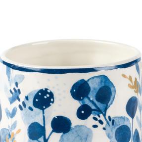 Portobello CM06057 Tank Irena Stoneware Mug, Blue/Gold Thumbnail 2