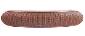 Intempo Curved Bluetooth Metallic Speaker