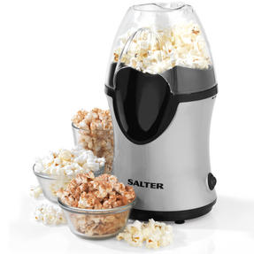 Salter Healthy Fat-Free Electric Hot Air Popcorn Maker, 1200 W