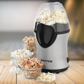 Salter Healthy Fat-Free Electric Hot Air Popcorn Maker, 1200 W Thumbnail 3