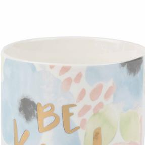 Portobello COMBO-2239 Esme and Tide Be Kind Enjoy Today Mugs, Set of 4, Pastel Colours Thumbnail 4