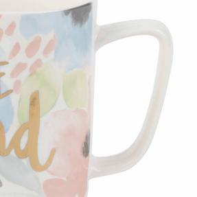 Portobello COMBO-2239 Esme and Tide Be Kind Enjoy Today Mugs, Set of 4, Pastel Colours Thumbnail 6