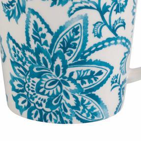Cambridge COMBO-2258 Arrabella Teal Lincoln Mugs, Set of 4 Thumbnail 4