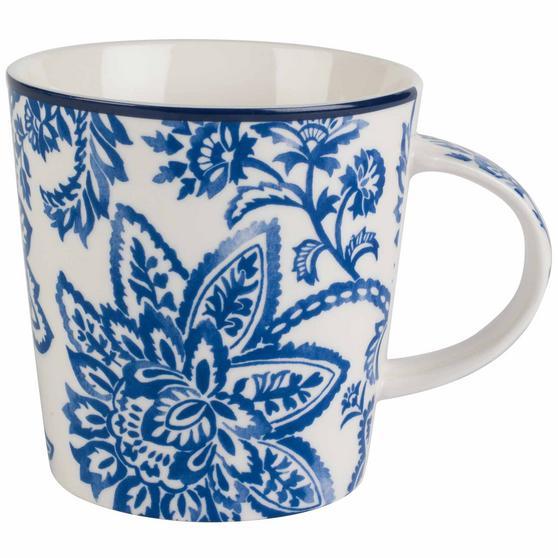 Cambridge Arrabella Blue Lincoln Mugs, Set of 6