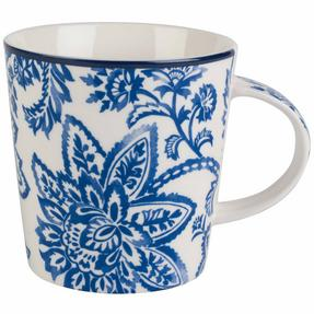 Cambridge COMBO-2259 Arrabella Blue Lincoln Mugs, Set of 6