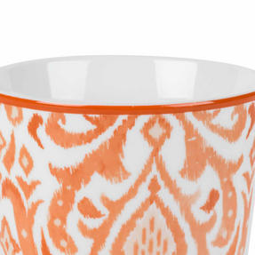 Cambridge COMBO-2261 Salma Orange Lincoln Mugs, Set of 4 Thumbnail 2