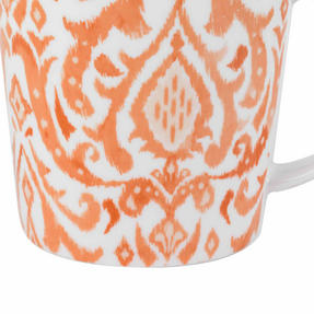 Cambridge COMBO-2261 Salma Orange Lincoln Mugs, Set of 4 Thumbnail 5