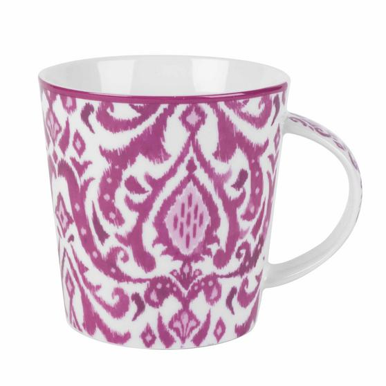 Cambridge COMBO-2264 Salma Pink Lincoln Mugs, Set of 6