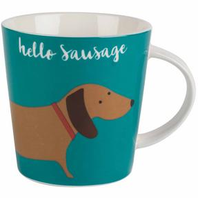 Cambridge COMBO-2266 Lincoln Hello Sausage Mugs, Set of 4 Thumbnail 2