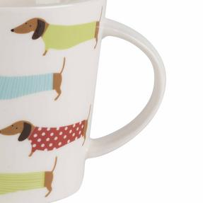 Cambridge COMBO-2267 Pop Dachshund Lincoln Mugs, Set of 6 Thumbnail 3