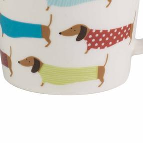 Cambridge COMBO-2267 Pop Dachshund Lincoln Mugs, Set of 6 Thumbnail 4