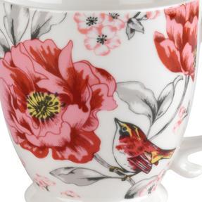Cambridge COMBO-3042 Kensington Olivia Bright Fine China Mug, Set of 4 Thumbnail 3