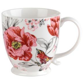 Cambridge COMBO-3043 Kensington Olivia Bright Fine China Mug, Set of 6