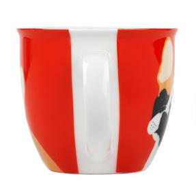 Cambridge COMBO-3047 Oxford Puppy Pal Bulldog Fine China Mug, Set of Six Thumbnail 3