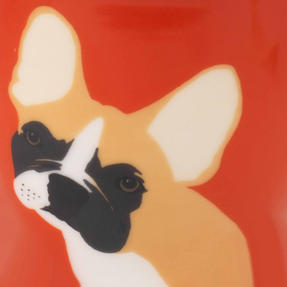 Cambridge COMBO-3047 Oxford Puppy Pal Bulldog Fine China Mug, Set of Six Thumbnail 5
