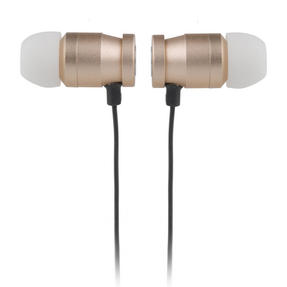 Intempo EE1777GLDRDFOB Bluetooth Magnetic Earphones, Gold Thumbnail 3