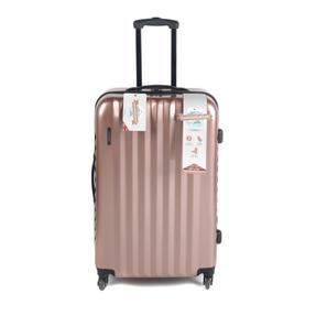 Constellation LG00571LRGSDMIL Large Athena Suitcase with Hardshell, Rose Gold, 28?