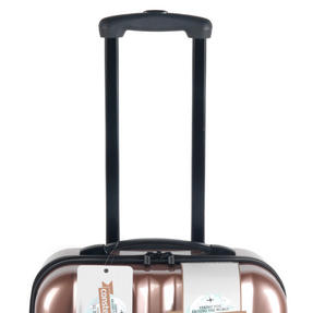 "Constellation Athena ABS Hard Shell Suitcase, 24"", Rose Gold Thumbnail 2"