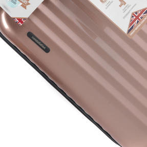 "Constellation Athena ABS Hard Shell Cabin Suitcase, 20"", Rose Gold Thumbnail 3"