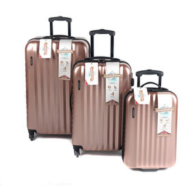 "Constellation Athena ABS Hard Shell Cabin Suitcase, 20"", Rose Gold Thumbnail 4"