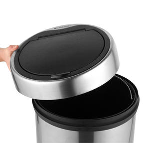 Russell Hobbs RH00141 Touch Lid Round Kitchen Household Bin, 30 Litre, Stainless Steel Thumbnail 3