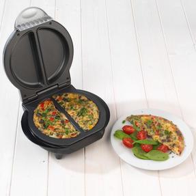 Weight Watchers EK2767WW Non-Stick Dual Omelette Maker, 700 W Thumbnail 2